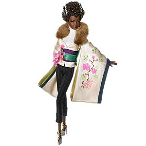 Byron Lars <em>Ayako Jones</em>™ Barbie® Doll
