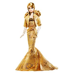 <em>Golden Gala</em> Barbie® Doll