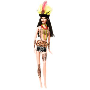 <em>Amazonia</em> Barbie® Doll
