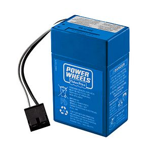 Power Wheels® Toddler 6-Volt Rechargeable Replacement Battery