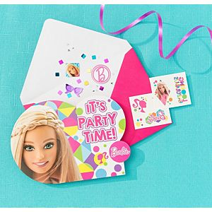 Barbie Invitation Kit