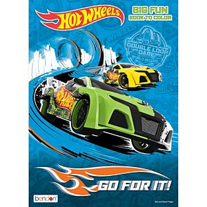 Hot Wheels Coloring & Activity Book