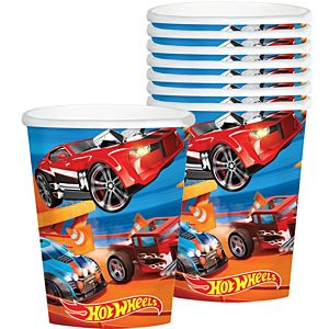 Hot Wheels Cups 8ct