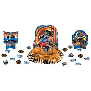 Hot Wheels Table Decorating Kit 23pc