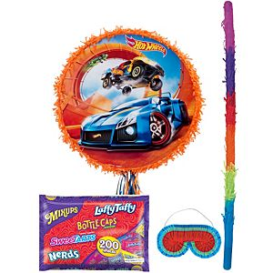 Hot Wheels Orange Pinata Kit