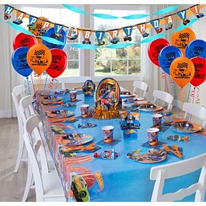 Hot Wheels Party Supplies Super Party Kit