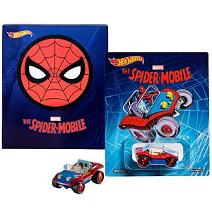 SDCC Exclusive Hot Wheels® 2017 Marvel™ Spider-Man™ Spider-Mobile™