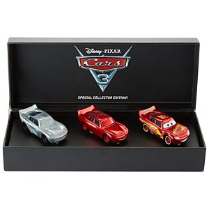 SDCC Exclusive Disney•Pixar Cars 3 The Making of Cars 3 Lightning McQueen Die-Cast Vehicle 3-Pack