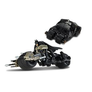 The Dark Knight™ Bat-Pod™ & Batmobile™ (1:50)