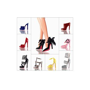 Christian Louboutin <em>Barbie®</em> Shoe Collection