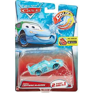 Disney•Pixar Cars Color Changers Dinoco Lightning McQueen Vehicle