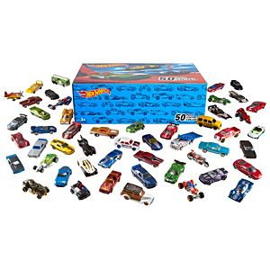 Hot Wheels Mainline 100-Car Case Pack