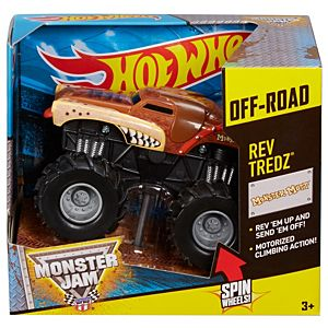 Hot Wheels® Monster Jam® Rev Tredz® Monster Mutt® (Brown) Vehicle