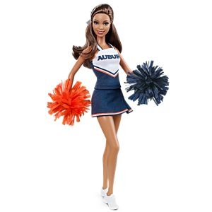 <em>Auburn University</em> Barbie® Doll (African American)