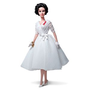 Elizabeth Taylor White Diamonds Doll