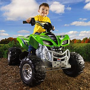 Power Wheels® Kawasaki KFX® (Green)