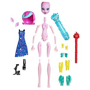 Monster High® Create A Monster Color Me Creepy™ Werewolf Starter Pack Doll