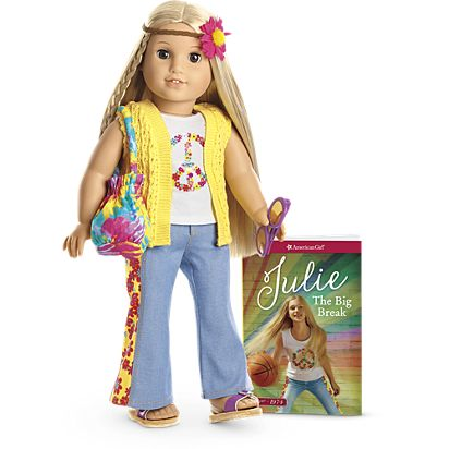 julie doll book accessories beforever american girl