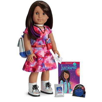luciana doll book accessories american girl