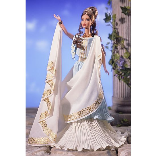 classical goddess collection fantasy dolls barbie signature