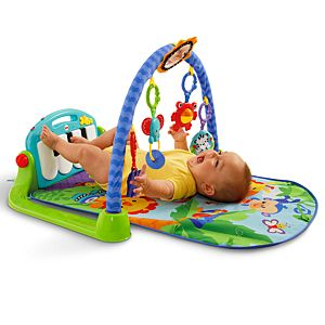 Kick Amp Play Piano Gym Blue Bmh49 Fisher Price