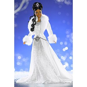 Mattel Barbie 2003 Winter Fantasy Holiday Visions Barbie A//A Special Edition