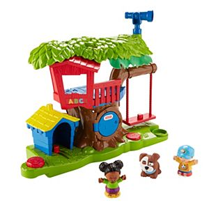 Little People Swing Amp Share Treehouse Dyf19 Fisher Price