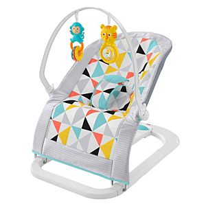 Safari Dreams Deluxe Newborn Auto Rock N Play Sleeper