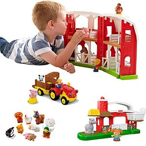 Little People Farm Amp Friends Gift Set Fgy12 Fisher Price