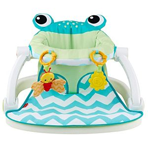dd77d904de8 Sit-Me-Up Floor Seat - Citrus Frog. Soothing and entertaining for ...