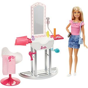 Barbie® Doll and Salon Playset