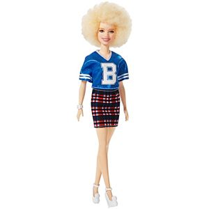 2018 BARBIE DOLL CLOTHES FASHIONISTA 91 VARSITY PLATITUDE SKIRT