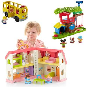 Little People Swing & Share Treehouse   DYF19   Fisher-Price