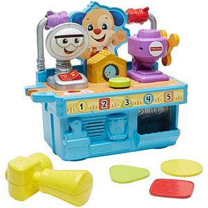 Fisher Price Laugh Amp Learn Busy Learning Tool Bench