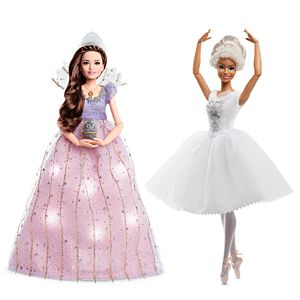 Disney The Nutcracker and the Four Realms Gift Set - Clara's Light Up Dress and Ballerina of the Realms