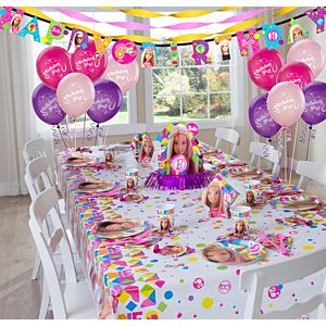 Barbie 174 Barbie Party Supplies Super Party Kit For 8 Guests