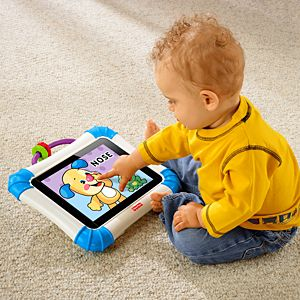 Laugh & Learn Apptivity Case for iPad Devices - Blue | X3189 | Fisher-Price