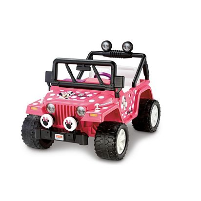 Image for MINNIE MOUSE 2 SEAT JEEP from Mattel a579c199ce47