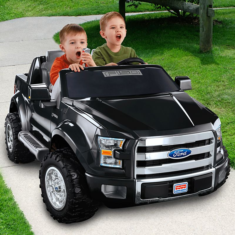 Power Wheels Ford F 150 Black Bjm25 Fisher Price