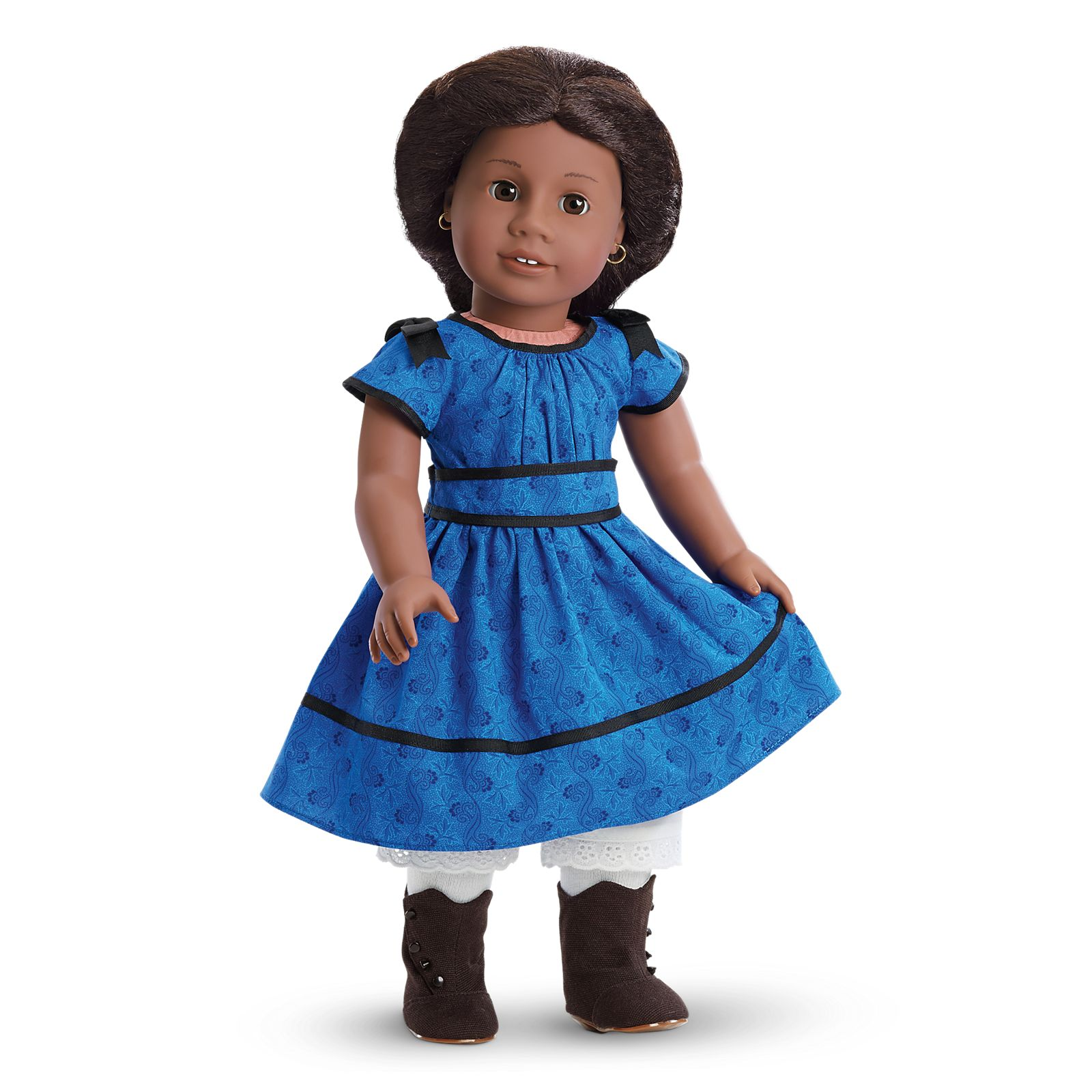 Fit For 18/'/' American Girl Meet Outfit Handmade Gift Doll Accessories Blue Socks