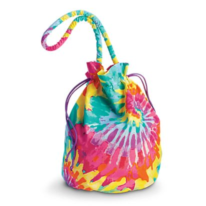 8cdf264db Tie-Dye Tote for Girls | BeForever | American Girl