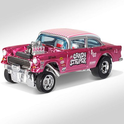 Hwc Special Edition 55 Chevy Bel Air Gasser Blr11 Hot Wheels