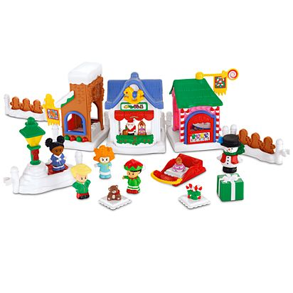 Image for Little People Christmas on Main Street from Mattel