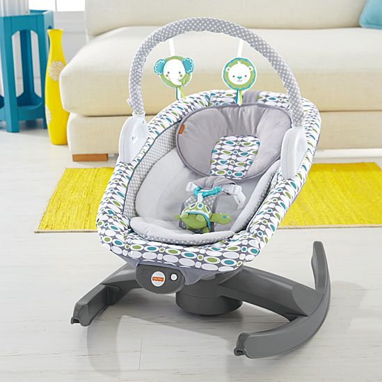 4-in-1 Rock \'n Glide Soother | CBT81 | Fisher-Price