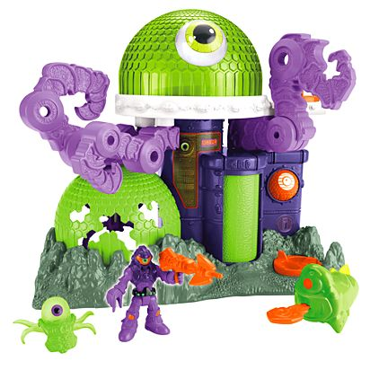 Imaginext Ion Alien Headquarters Playset Cch64 Fisher Price
