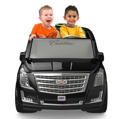 a5413b67f Image for Power Wheels® Cadillac® Escalade from Mattel