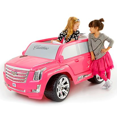Image For Wheels Barbie Cadillac Escalade From Mattel