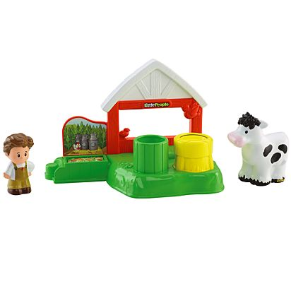 Little People Dairy Barn Playset Cdh27 Fisher Price