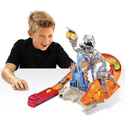 Hot Wheels® Nitrobot Attack™ Trackset