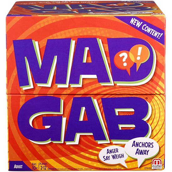 Mad Gab Game Cfx45 Mattel Shop